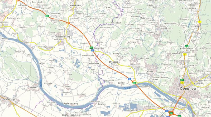 Neuhausen ab 01.07. auch auf der Autobahn
