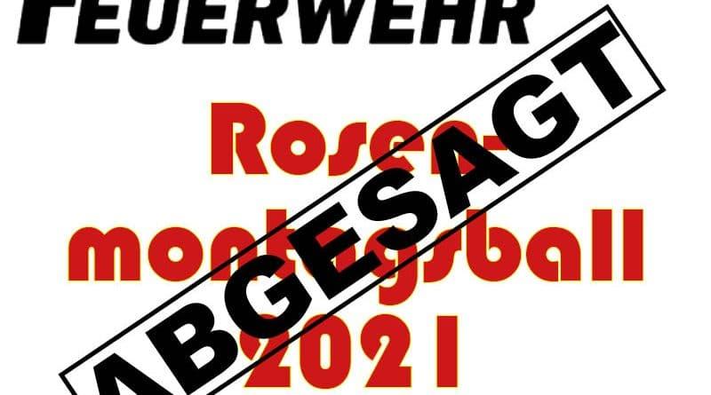 Rosenmontagsball 2021 – abgesagt