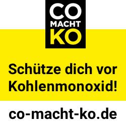Kohlenmonoxid ist tödlich